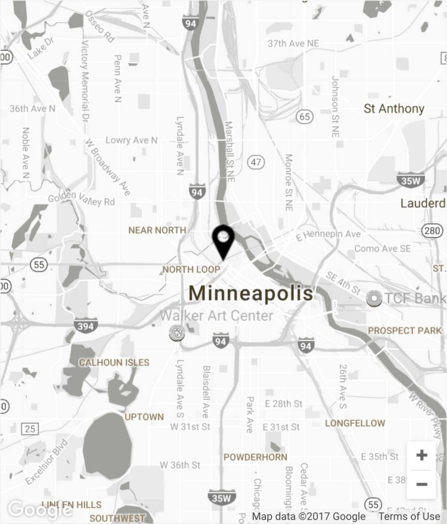 Minneapolis-Map